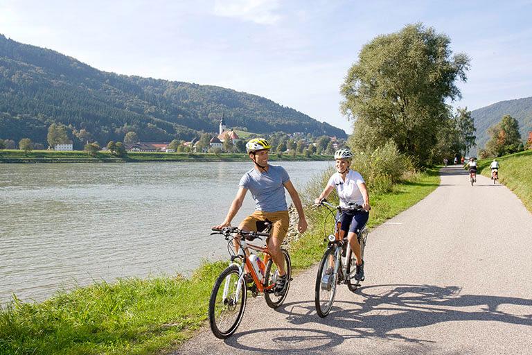 E-Bike+am+Donauradweg